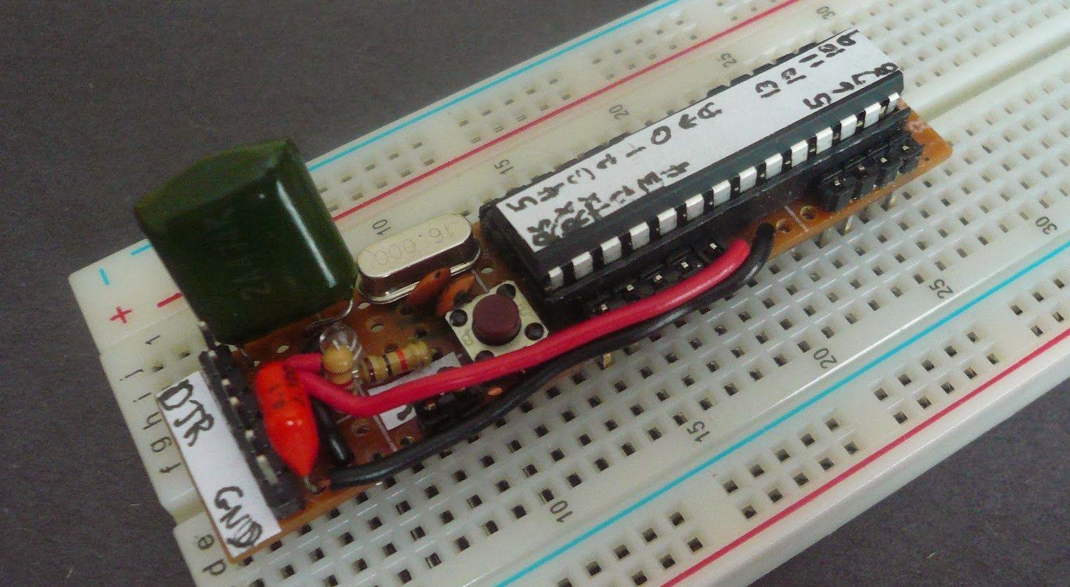 Fabrication d'un Arduino conçu pour utilisation sur