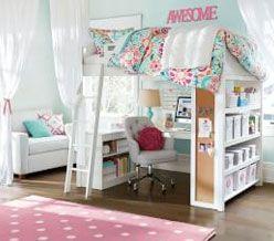 Teenage Girl Room Ideas | PBteen | Roomspiration | Pinterest