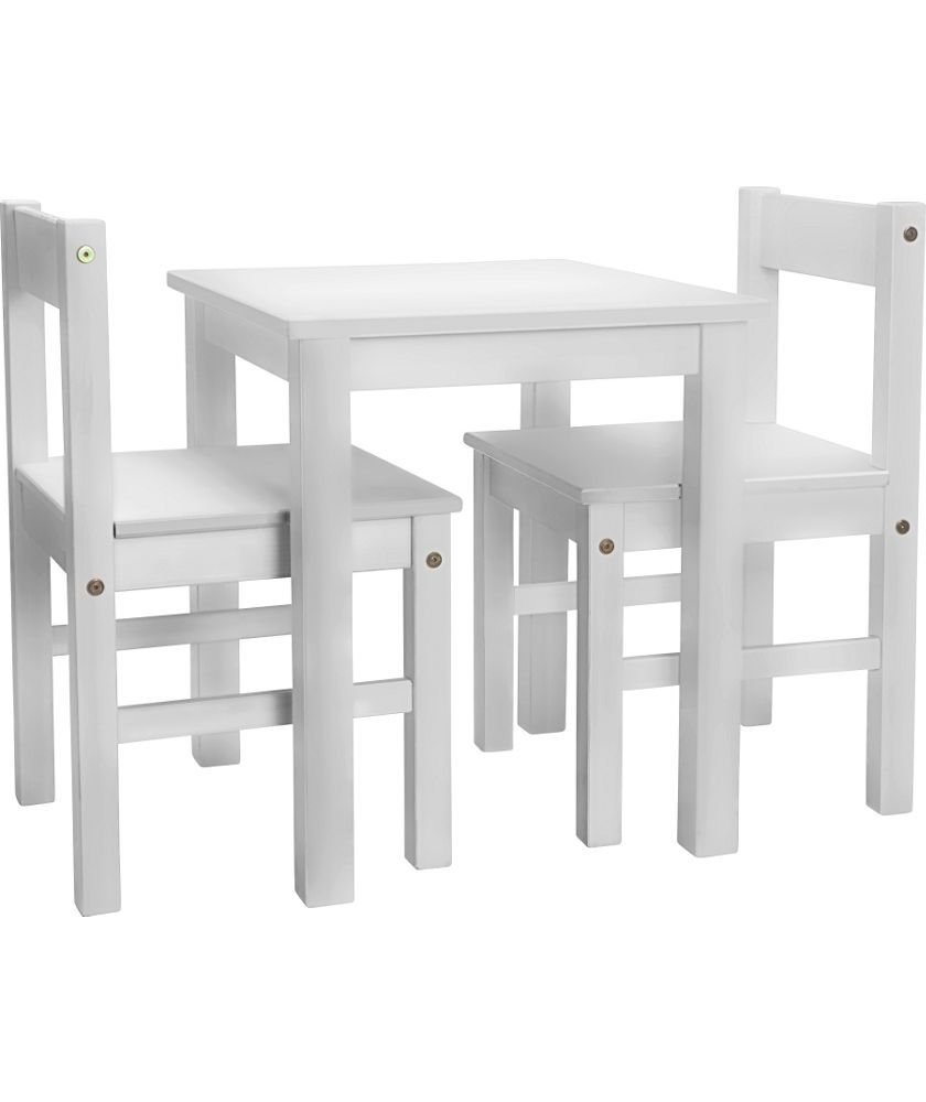 buy kids scandinavia table and 2 chairs white at argos co uk