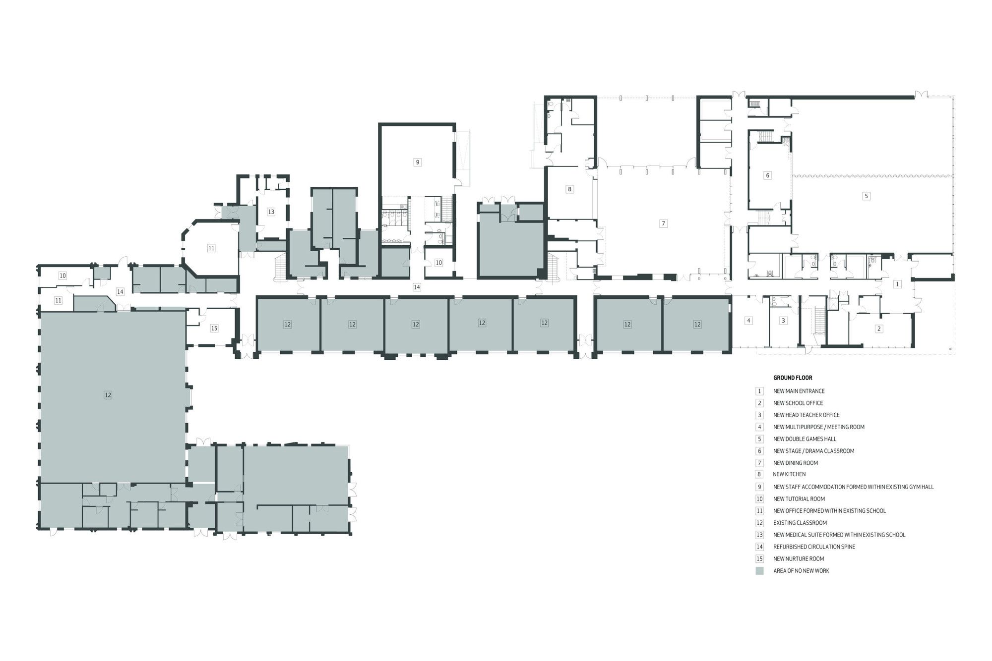 gallery of heathfield primary holmes miller architect