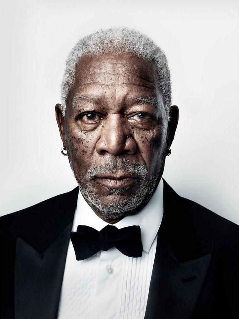 Photo Marco Grob Morgan Freeman Freeman Actors