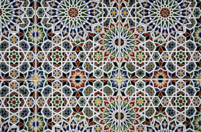 Patterned Mosaic Tiles Mosiac Tile