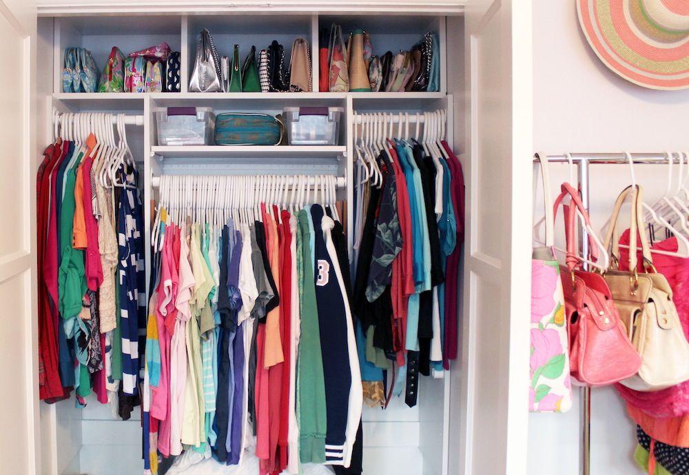 Closet Organizing // Video Tour // Dream Wardrobe // How To Organize Your