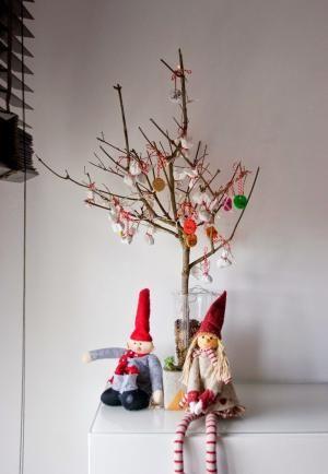 El árbol de navidad handmade de DEF Deco- Decorar en familia | Adornos navideños con pasta de sal by bridget