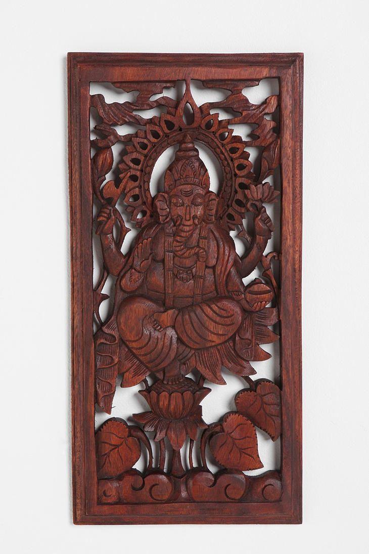$59 Ganesh Wall Carving