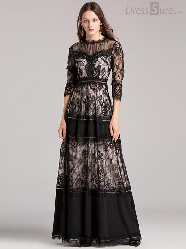 Missord 2018 Women Sexy High Neck Long Sleeve Split Glitter Dresses Female  Maxi Elegant Party Dress Vestdios FT9283 – PasangSurut  9f9901d6876f