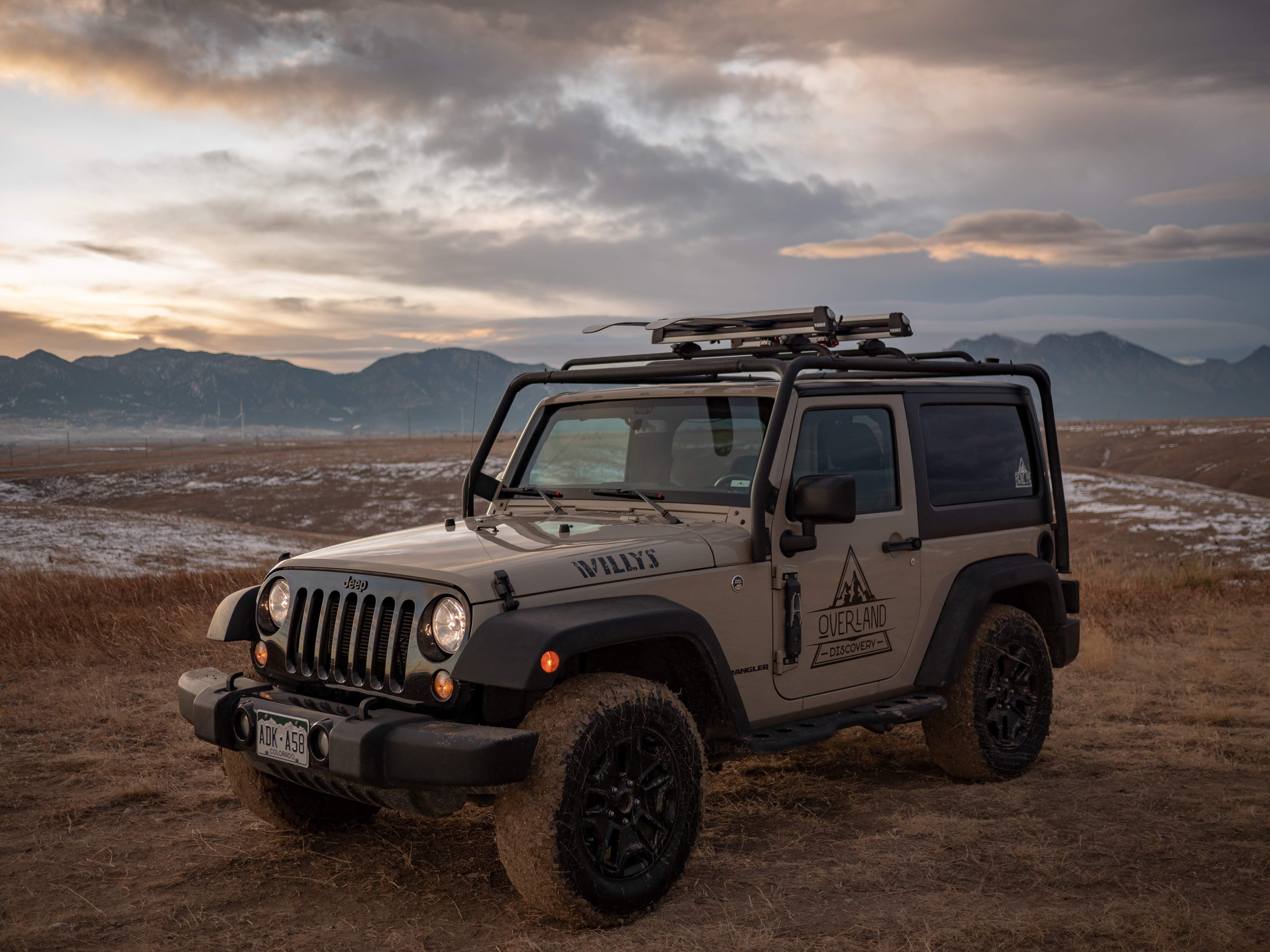Overland Discovery Jeep Wrangler In 2020 Campervan Rental Jeep Wrangler Overlanding