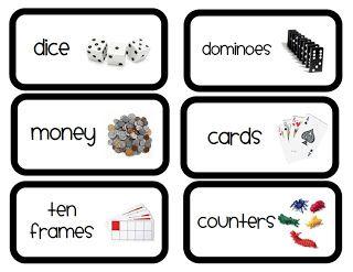 Labels from First Grade Garden also,