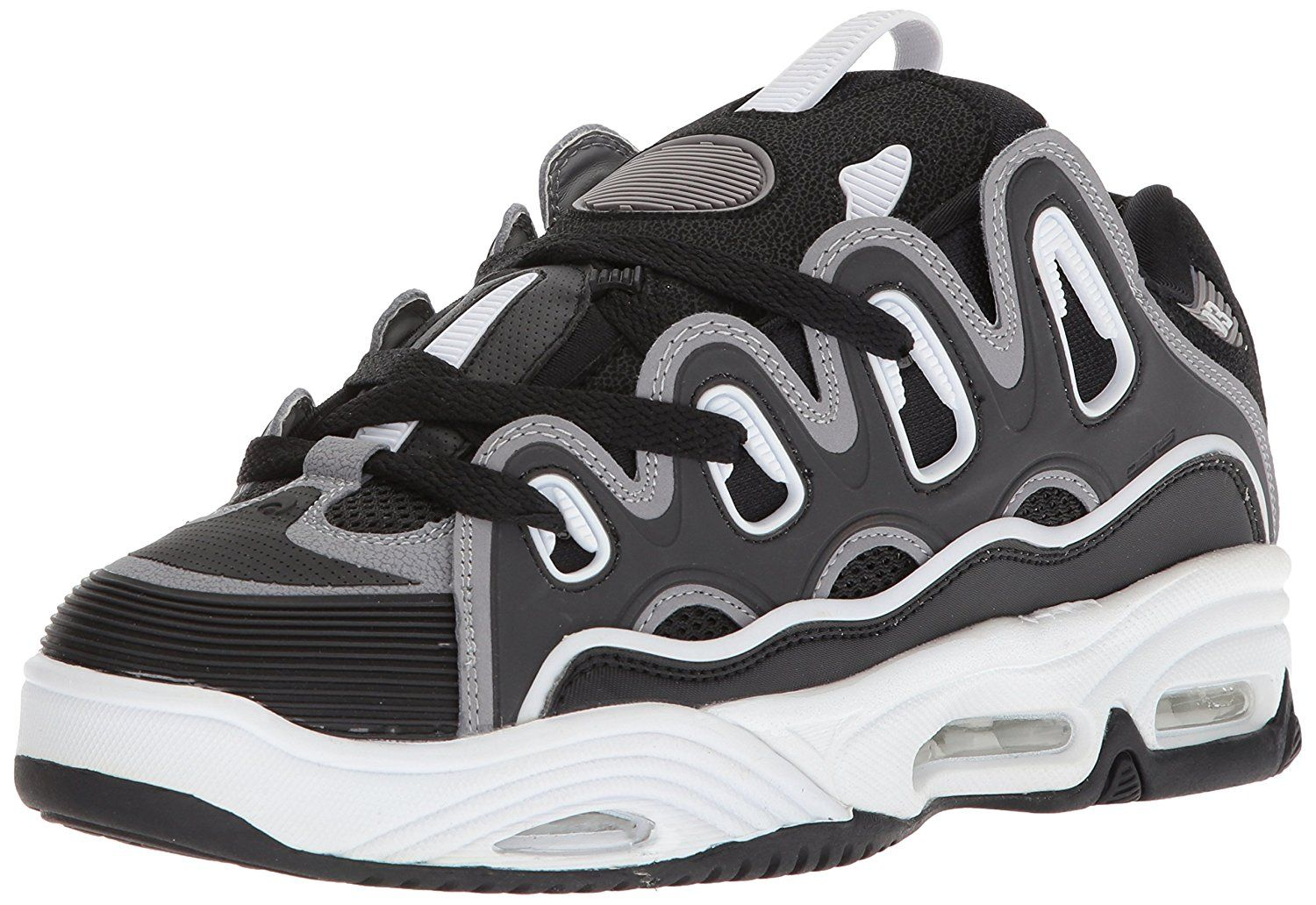 a34e5422f75f52 Osiris Men's D3 2001 Skate Shoe, Black/Grey/White, 5.5 M US: Amazon.ca:  Shoes & Handbags