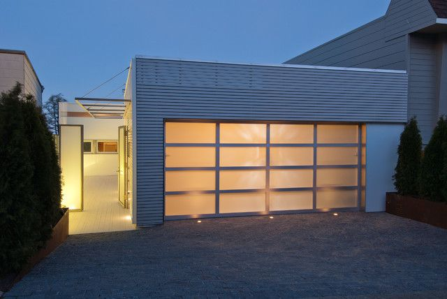 cool Modern Garage Doors Design Ideas