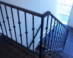 Suggestions To Update Wrought Iron Stair Railing Without Replacing