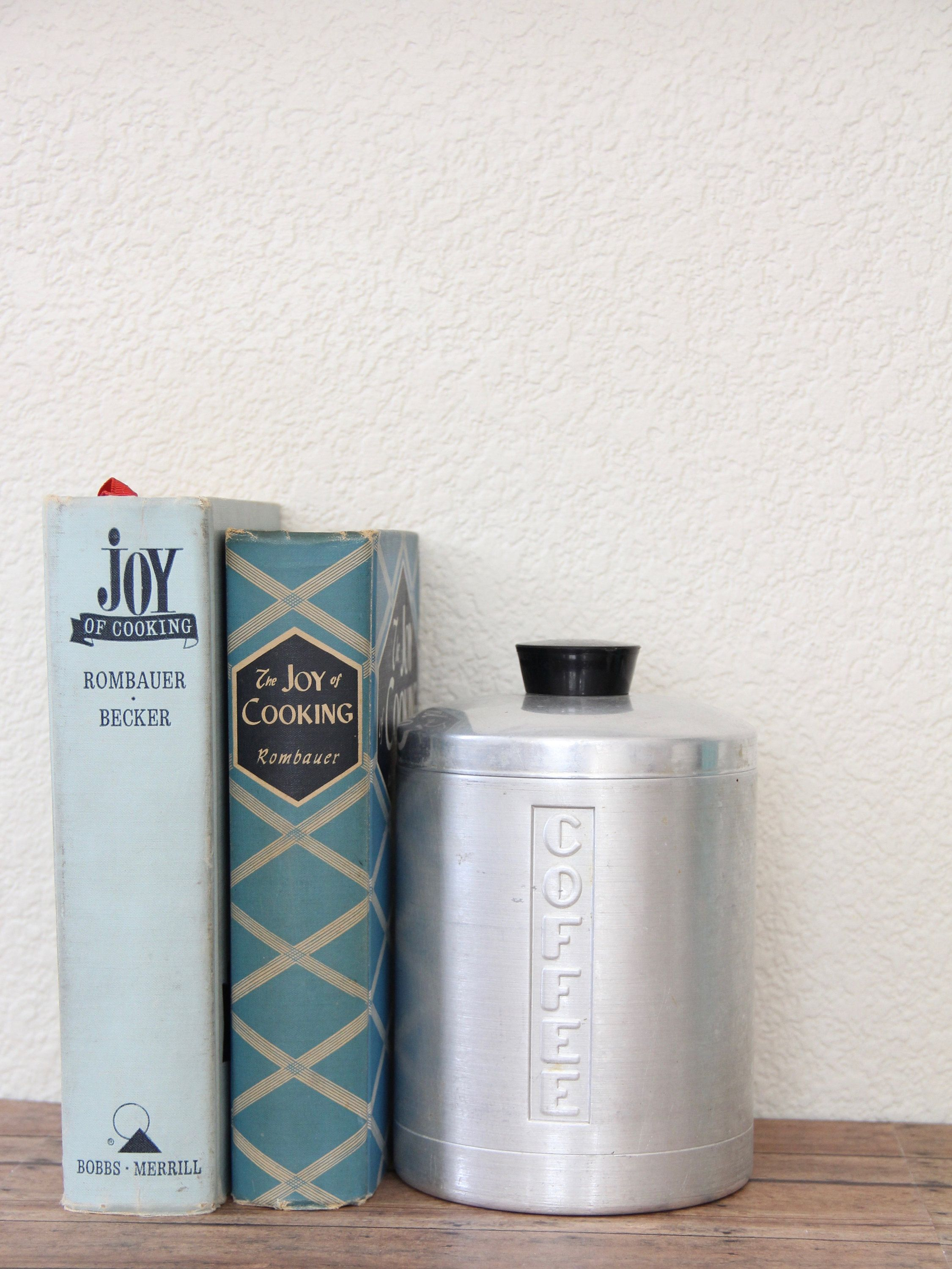 Coffee Canister - Vintage Coffee Canister - Aluminum Canister ...