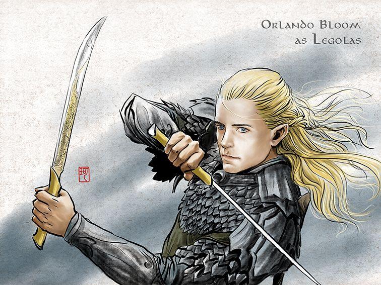 Legolas in Mirkwood by ilxwing.deviantart.com on ...