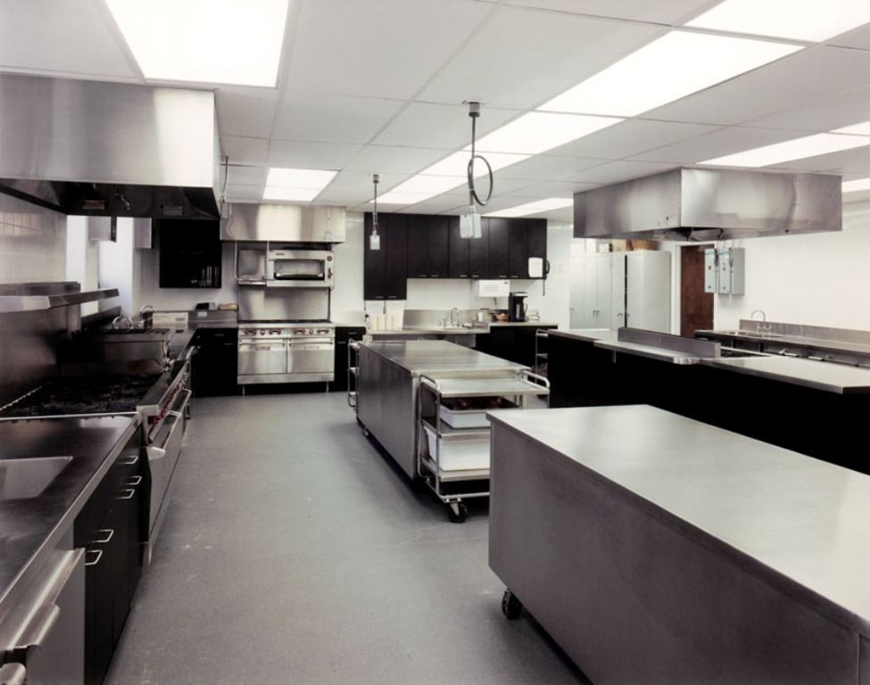 Commercial bakery kitchen design for Professional kitchen design