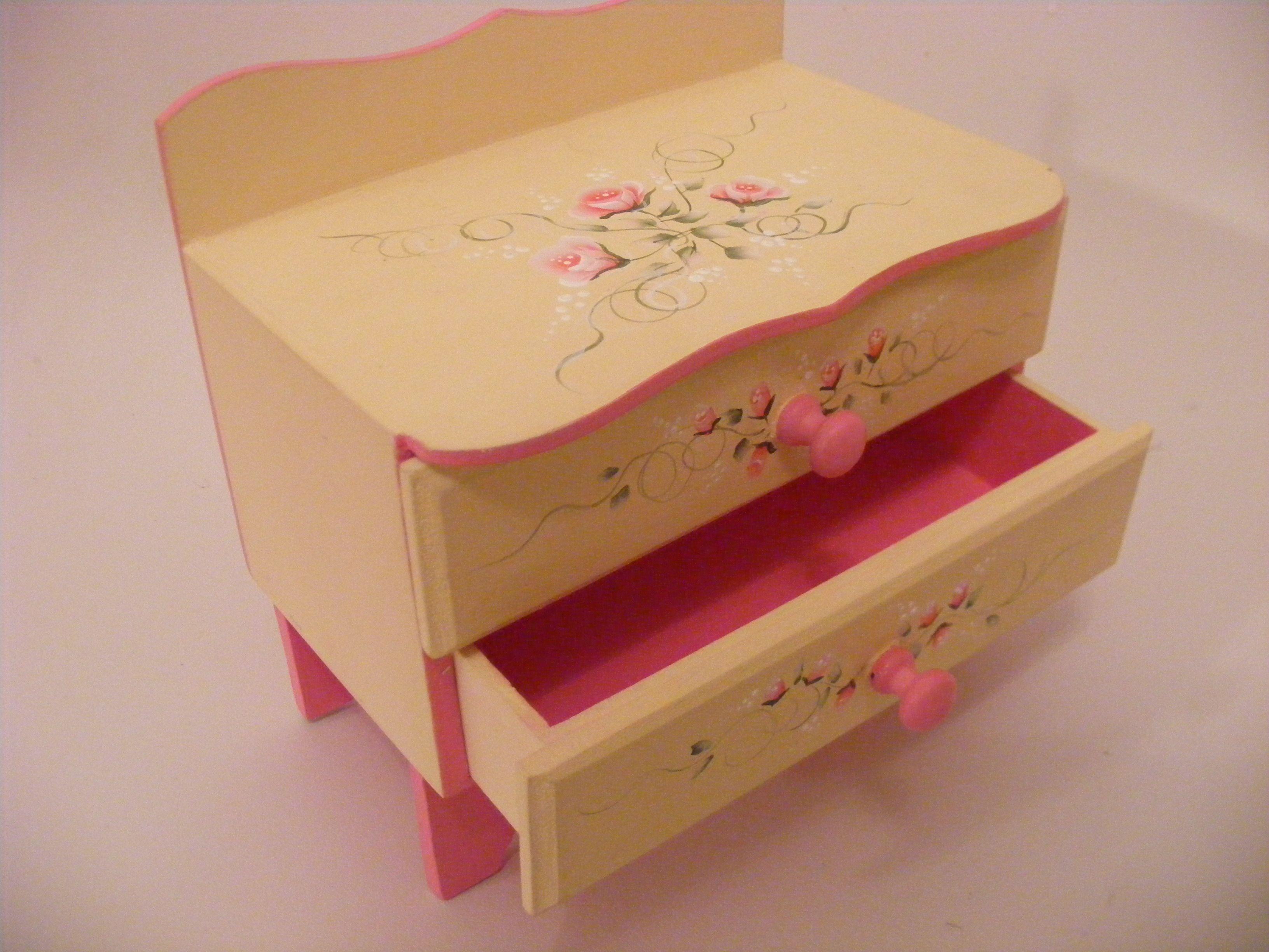 Cajas De Fibrofacil Con Cajoncitos Pintadas Buscar Con Google  ~ Cajas De Carton Decorativas Grandes
