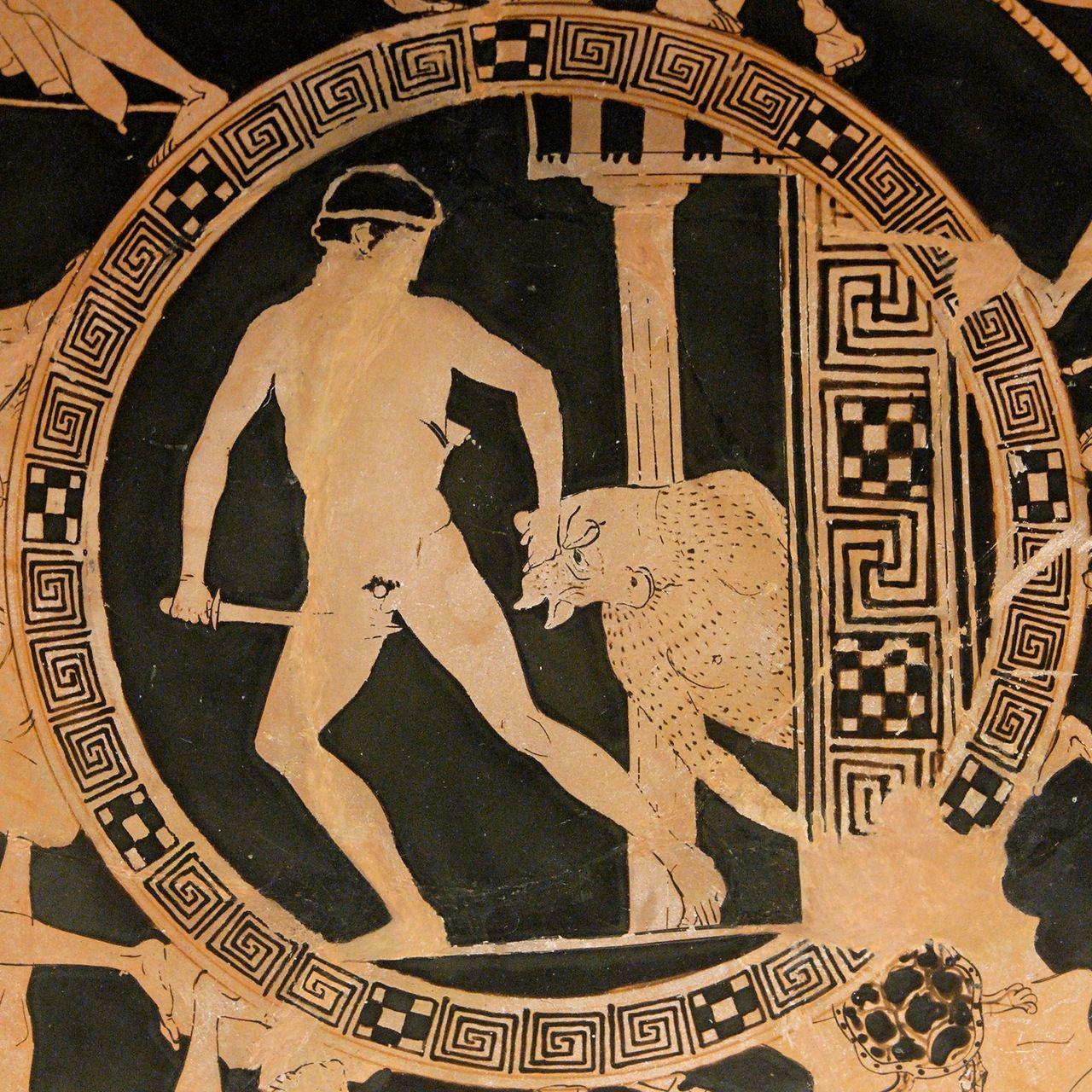 маффин рисунки лабиринта из древней греции цены, наличие товара
