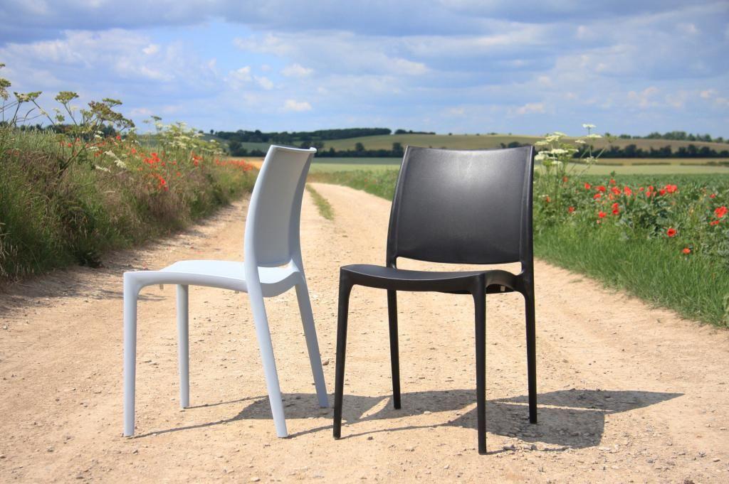 Maya stapelbare design stoel
