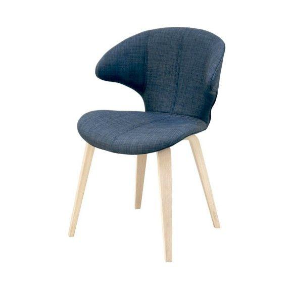 STUHL In Holz, Textil Dunkelblau   Stühle   Esszimmer   Wohn  U0026 Esszimmer