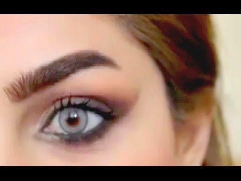 كيفية رسم الحاجب بشكل مميز فيديو بالشرح Bad Makeup Eyebrow Shaper Powdered Eyebrows
