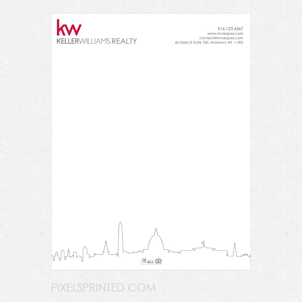 letterhead, realtor letterhead, real estate letterhead, broker letterhead, coldwell banker letterhead, kw letterhead, keller williams letterhead, century 21 letterhead,  ERA real estate letterhead, Weichert letterhead, EXIT real estate letterhead, Berkshire Hathaway letterhead, independent realtor letterhead