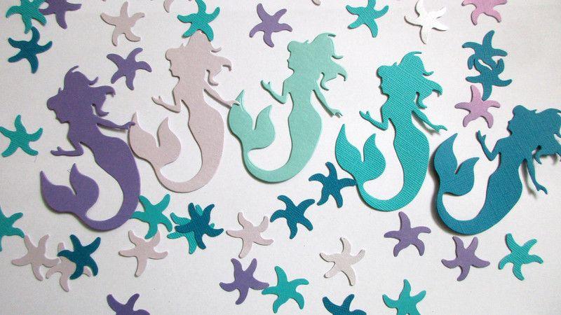 100 Under the Sea Confetti Mermaid confetti Confetti, Mermaid and - confeti