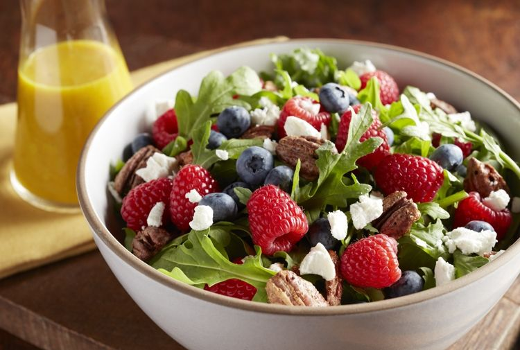... blueberry recipes vinaigrette recipe mixed berries summer salad soup