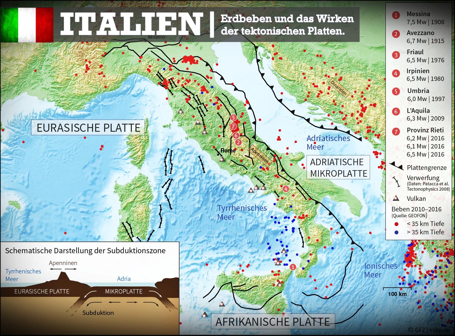 italien karte erdbeben Italien: Erdbeben Karte. | Erdbeben, Italien, Karten