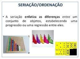 Resultado De Imagem Para Seriacao Matematica Na Educacao Infantil