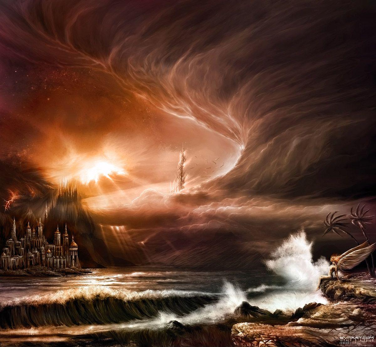 Fantasy Landscape Wallpaper: 25 Stunning Fantasy Landscape Illustrations
