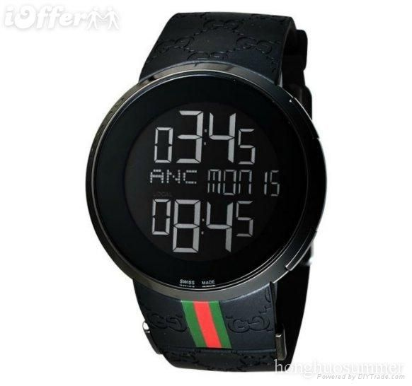 fashion watch gucci digital watch men s black watches watch fashion watch gucci digital watch men s black watches