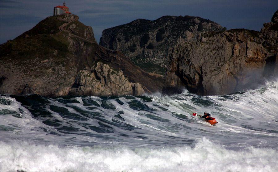 Txema Carreto @ KayakSurf Championships, Baki - Spain