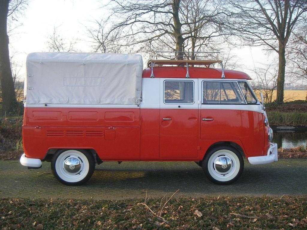 Vw T1 Pritsche 1 6 Doppelkabine 1966 Oldtimer Kaufen Vw T1 Volkswagen