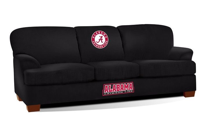 University of Alabama First Team Microfiber Sofa