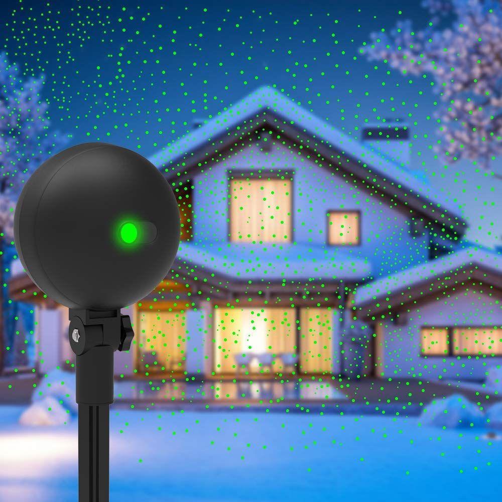 Christmas Lights Projector Laser Light Xmas Spotlight Projectors Waterproof Outdoor Land Christmas Lights Christmas Light Projector Best Christmas Laser Lights