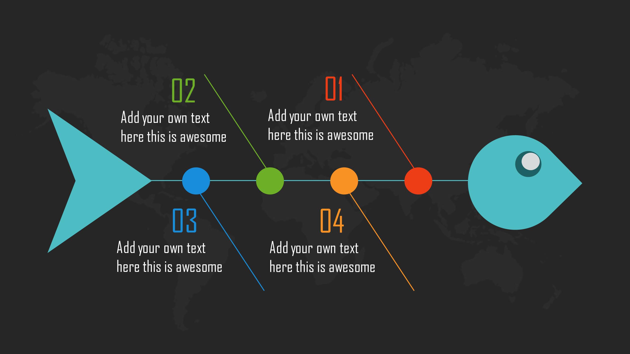 PowerPoint Slide Design (Fishbone infographic template) | PowerPoint ...
