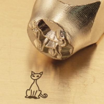 Cat Metal Design Stamp Metal Stamping Ideas Pinterest Metal