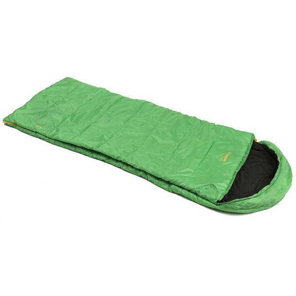Basecamp Nautilus SQ, Right Side Zip, Emerald Green