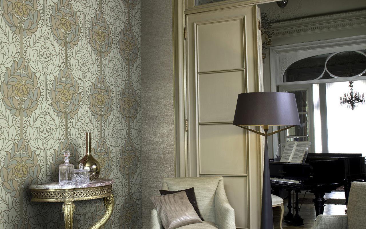 Lotus - Tapeten von Omexco, hochwertige Wandbekleidungen, Tapeten - Objektausstattung, Raumausstattung. Tapeten, Wandbekleidungen, Tapete, O...