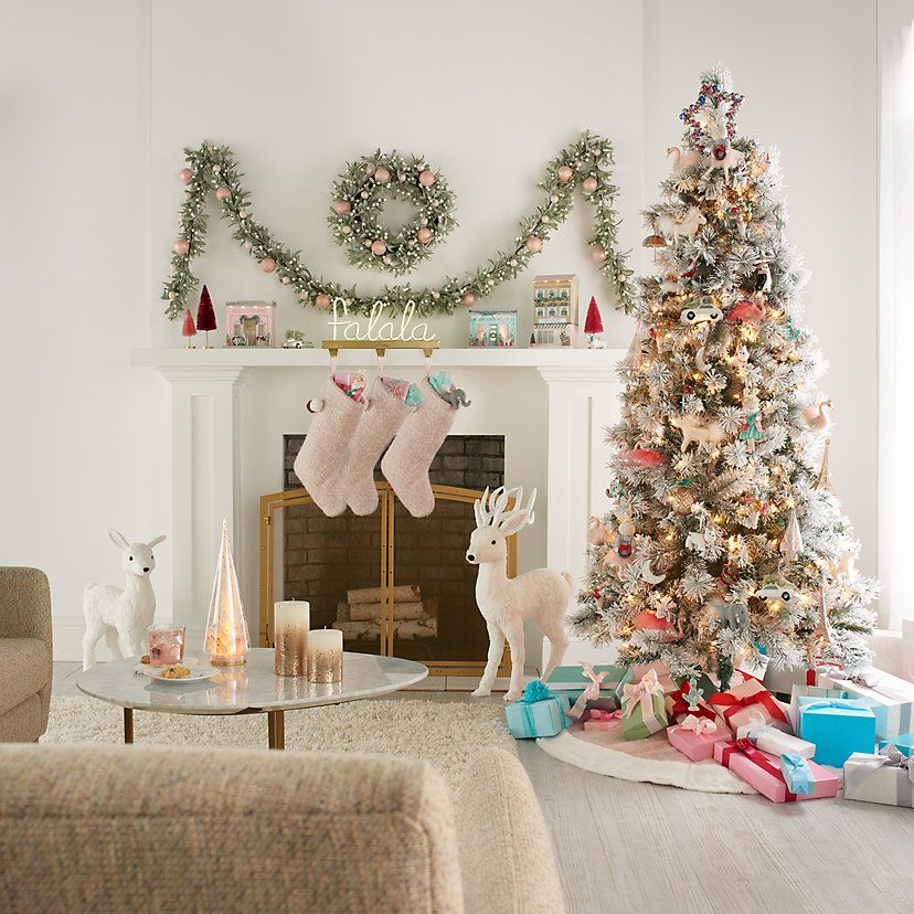 LC Lauren Conrad Herringbone Christmas Tree Skirt -   20 christmas decorations ideas