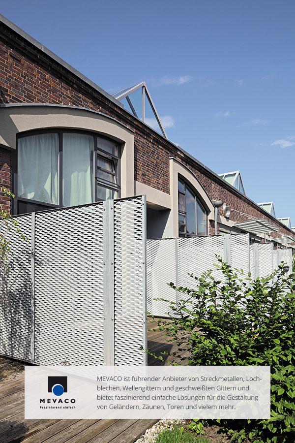 G. P. Wirth verwandelte das Industriebau-Denkmal in moderne Wohnungen. Für den besonderen Industrie-Loft-Charme nutzte der Architekt Streckmetall. Mehr unter http://www.mevaco.de/fascination-8  #MEVACO #Streckmetall #Stahl #IndustrieLoft #FaszinationNo8