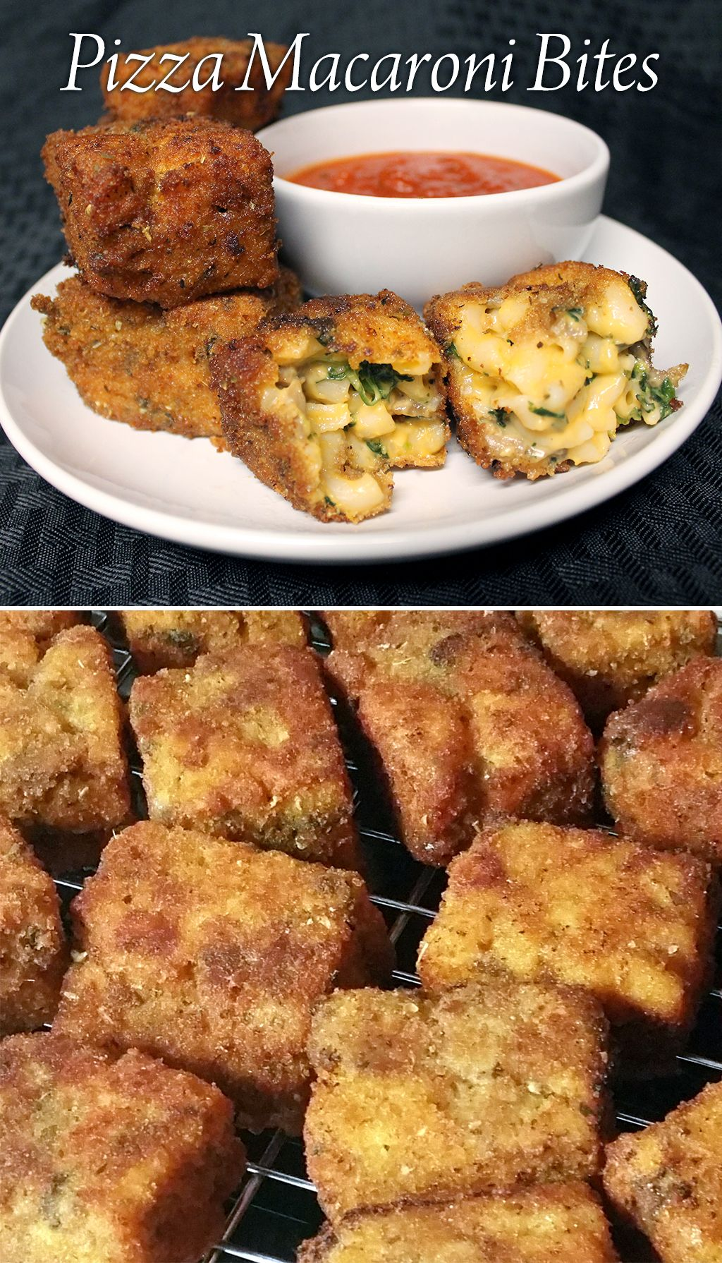 Pizza Macaroni Bites Macaroni, cheese pizza, Air fried