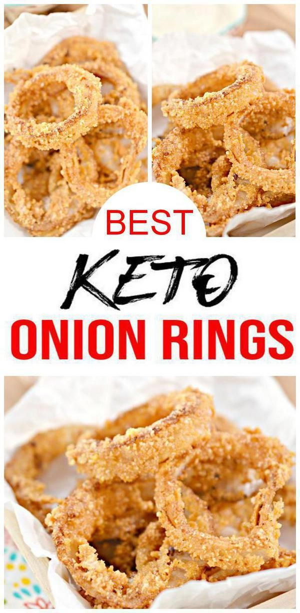 Keto Onion Rings! Low Carb Onion Rings – Ketogenic Diet Recipe – Appetizer – Side Dish – Completely Keto Friendly #onionringsrecipe
