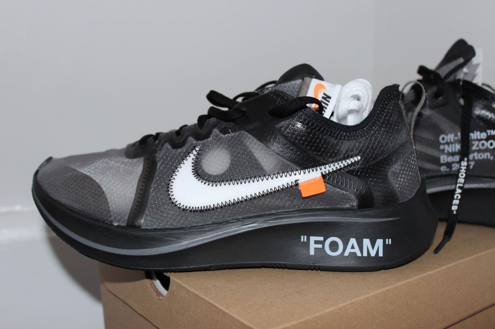 332cb291d8f4 The 10  NikeZoom Fly - OFF-WHITE - Black AJ4588-001 US Size 10.5 Mens   fashion  clothing  shoes  accessories  mensshoes  athleticshoes (ebay link)