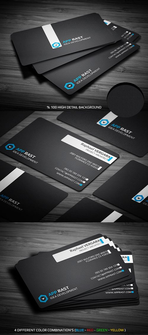 25 Professional Business Card Templates Psd Business