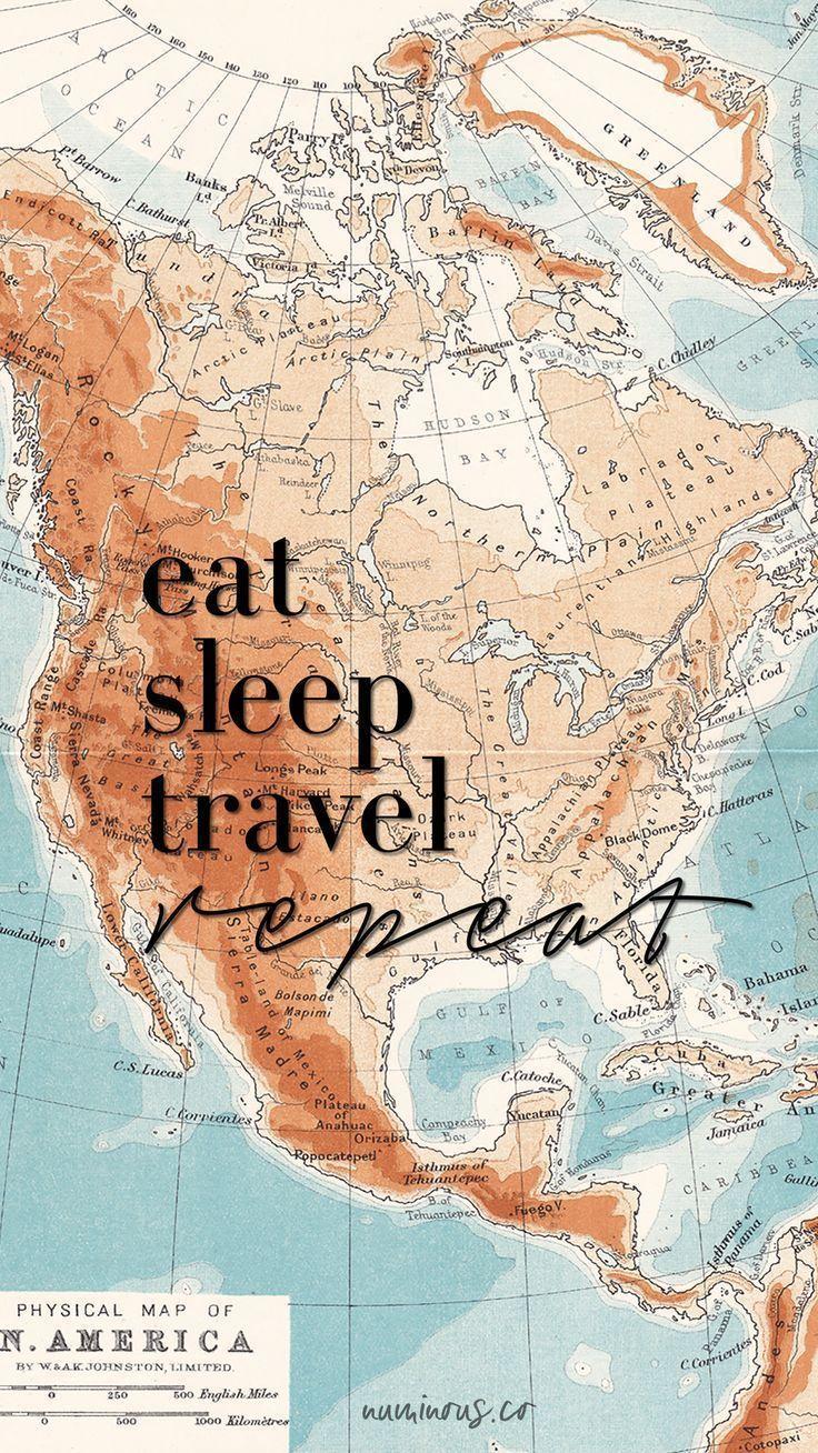 Eat Sleep Travel Repeat Tank