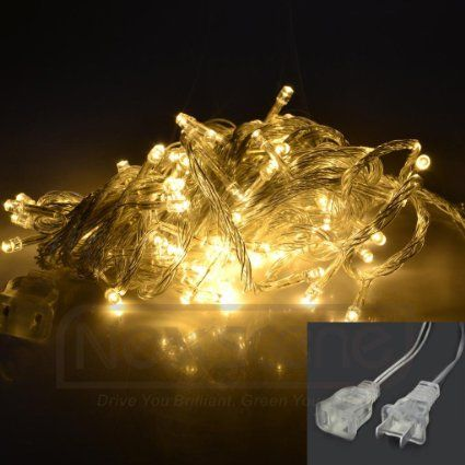 - niceEshop 100 LED 10m Christmas Wedding White Color