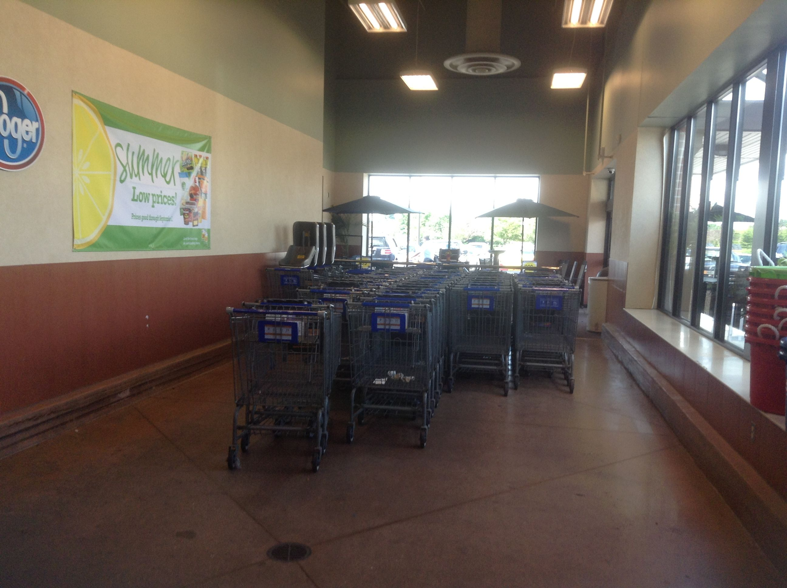Kroger Shopping Cart Area Indianapolis Indiana