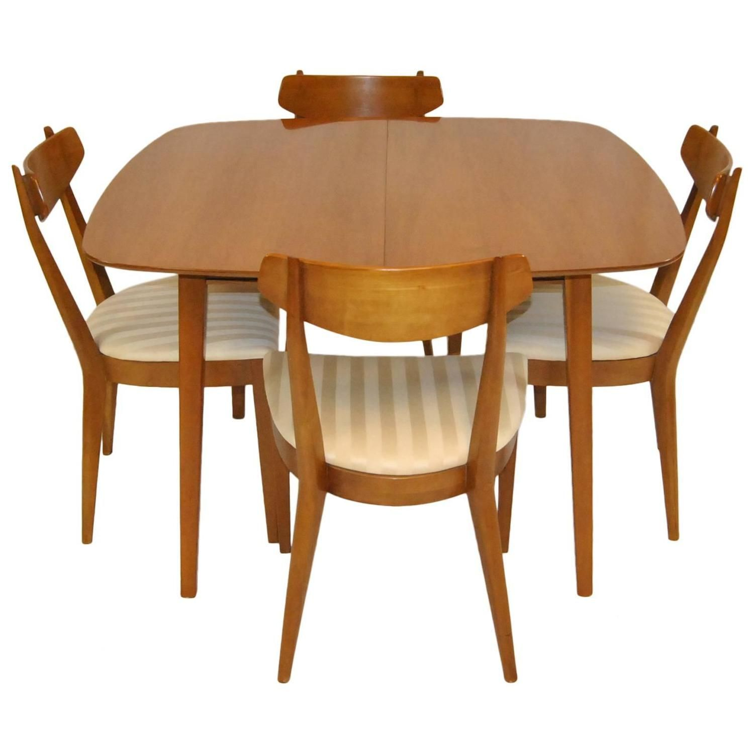 Mid Century Modern Dining Set By Kipp Stewart For Drexel, Sun Coast  Collection