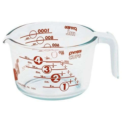 Pyrex 100 Year Measuring Cup 4 Cup Red Measuring Cups Cup Pyrex