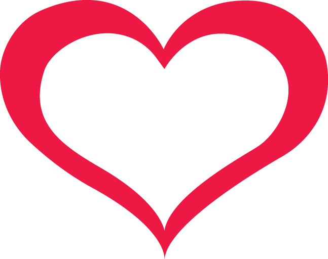 Red Outline Heart Png Image Download Heart Outline Png Heart Outline Outline